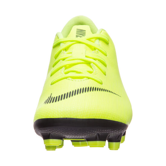 Mercurial Vapor XII Academy MG Fußballschuh Kinder, gelb / schwarz, zoom bei OUTFITTER Online