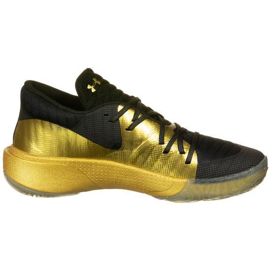 Spawn Low Basketballschuh Herren, schwarz / gold, zoom bei OUTFITTER Online