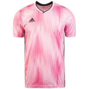 Tiro 19 Fußballtrikot Herren, pink / schwarz, zoom bei OUTFITTER Online