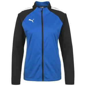 TeamLIGA Trainingsjacke Damen, blau / schwarz, zoom bei OUTFITTER Online