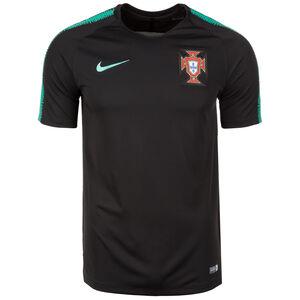 Portugal FPF Breathe Squad Trainingsshirt WM 2018 Herren, Schwarz, zoom bei OUTFITTER Online
