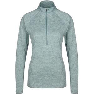 HeatGear Tech Twist Trainingsshirt Damen, graugrün, zoom bei OUTFITTER Online