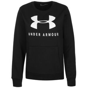 Favorite Fleece Sportstyle Graphic Sweater Damen, schwarz, zoom bei OUTFITTER Online