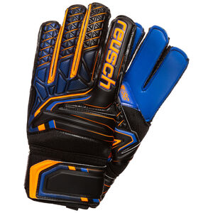Attrakt SG Extra Finger Support Torwarthandschuh Herren, schwarz / orange, zoom bei OUTFITTER Online
