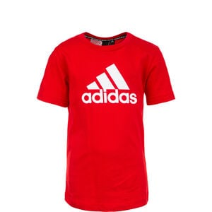 Must Haves Badge of Sport T-Shirt Kinder, rot / weiß, zoom bei OUTFITTER Online