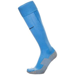 Matchfit Cushioned Sockenstutzen, hellblau / weiß, zoom bei OUTFITTER Online