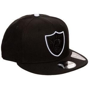 9FIFTY NFL Oakland Raiders Team Outline Cap, schwarz / weiß, zoom bei OUTFITTER Online