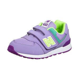 574 Sneaker Kinder, lila / türkis, zoom bei OUTFITTER Online