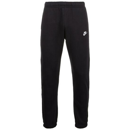 Club Fleece Jogginghose Herren, schwarz / weiß, zoom bei OUTFITTER Online