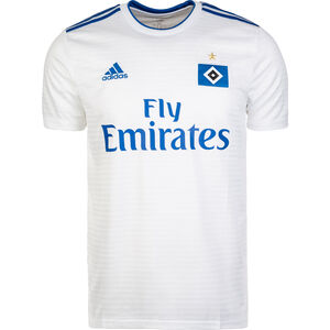 Hamburger SV Trikot Home 2018/2019 Herren, Weiß, zoom bei OUTFITTER Online