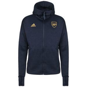 FC Arsenal Z.N.E. Kapuzenjacke Herren, dunkelblau / gold, zoom bei OUTFITTER Online