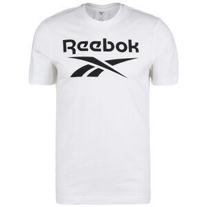 Graphic Series Reebok Stacked Trainingsshirt Herren, weiß, zoom bei OUTFITTER Online