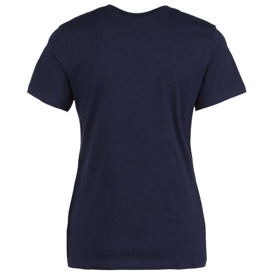 Frankreich Ground T-Shirt EM 2021 Damen, dunkelblau / rot, zoom bei OUTFITTER Online