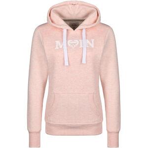 Moin Used VW Bulli Kapuzenpullover Damen, rosa, zoom bei OUTFITTER Online