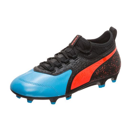 ONE 19.3 FG/AG Fußballschuh Kinder, blau / schwarz, zoom bei OUTFITTER Online