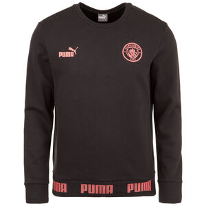 Manchester City FtblCulture Sweatshirt Herren, schwarz / rosa, zoom bei OUTFITTER Online