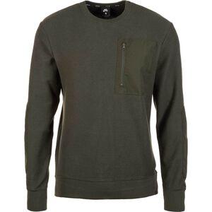 Overlays Sweatshirt Herren, oliv, zoom bei OUTFITTER Online