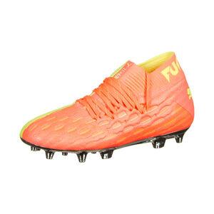 Future 5.1 NETFIT OSG FG/AG Fußballschuh Kinder, orange / neongelb, zoom bei OUTFITTER Online