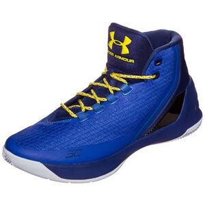 Curry 3 Basketballschuh Herren, Blau, zoom bei OUTFITTER Online