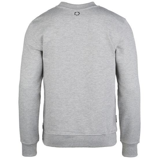 Punchingball Flag Sweatshirt Herren, hellgrau / rot, zoom bei OUTFITTER Online
