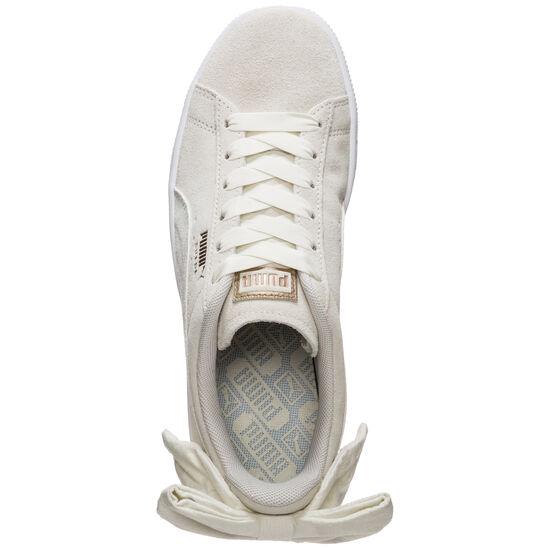 Suede Bow Sneaker Damen, beige / weiß, zoom bei OUTFITTER Online