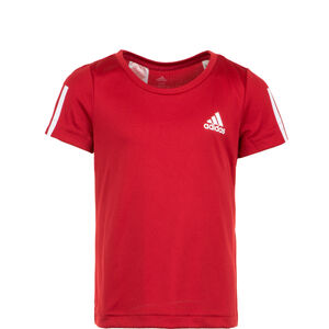 Equipment T-Shirt Kinder, rot / weiß, zoom bei OUTFITTER Online