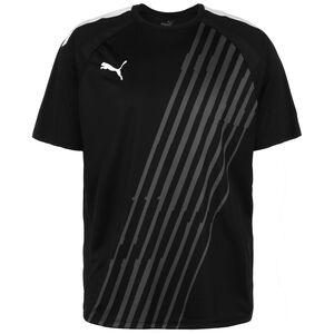 TeamLIGA Graphic Fußballtrikot Herren, schwarz / weiß, zoom bei OUTFITTER Online