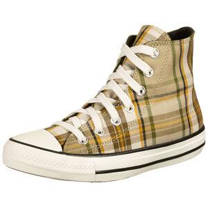 Chuck Taylor All Star High Sneaker Damen, beige / braun, zoom bei OUTFITTER Online