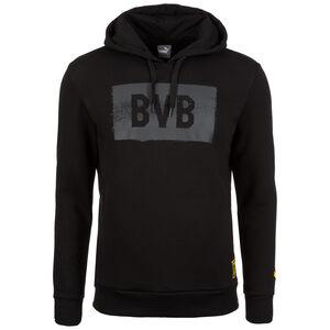 Borussia Dortmund Stencil Kapuzenpullover Herren, Schwarz, zoom bei OUTFITTER Online