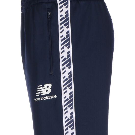 Essentials Track Jogginghose Herren, dunkelblau / weiß, zoom bei OUTFITTER Online