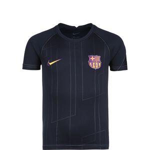 FC Barcelona Pre-Match Away Trainingsshirt Kinder, dunkelblau, zoom bei OUTFITTER Online