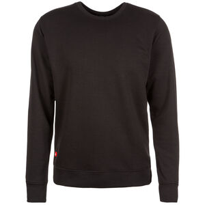 Crewneck Sweater Herren, Schwarz, zoom bei OUTFITTER Online