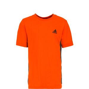 ID Tee 2 Trainingsshirt Kinder, orange / schwarz, zoom bei OUTFITTER Online