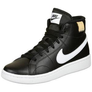 Court Royale 2 Mid Sneaker Damen, schwarz / weiß, zoom bei OUTFITTER Online