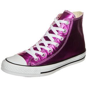 Chuck Taylor All Star Metallic High Sneaker Damen, Rot, zoom bei OUTFITTER Online