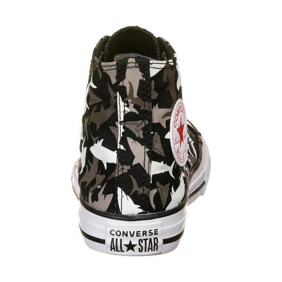 Chuck Taylor All Star Shark Bite High Sneaker Kinder, schwarz / grau, zoom bei OUTFITTER Online