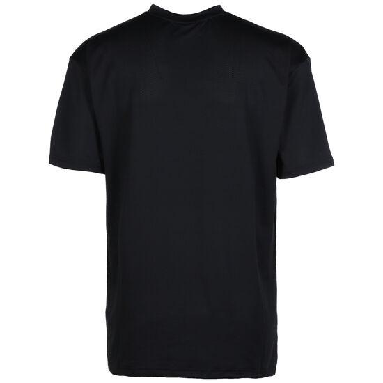 NBA Vertical Wordmark Los Angeles Lakers T-Shirt Herren, schwarz, zoom bei OUTFITTER Online