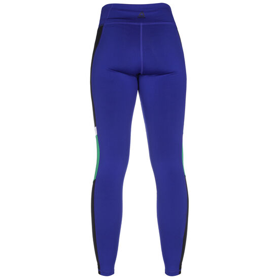 Meet You There Panelled Tight Leggings Damen, blau / grün, zoom bei OUTFITTER Online