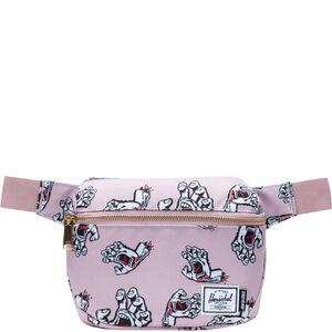 Fifteen Gürteltasche, rosa / weiß, zoom bei OUTFITTER Online