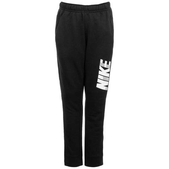 Dry Grafic Tapered Trainingshose Kinder, schwarz / weiß, zoom bei OUTFITTER Online
