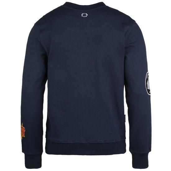 Multiple Sweatshirt Herren, dunkelblau / bunt, zoom bei OUTFITTER Online