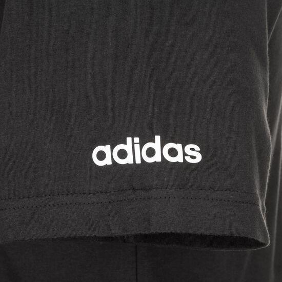 Essentials Branded T-Shirt Herren, schwarz / weiß, zoom bei OUTFITTER Online