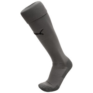 Team LIGA Core Socken, grau / schwarz, zoom bei OUTFITTER Online