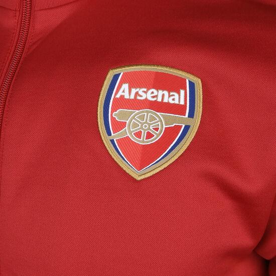 FC Arsenal 3-Streifen Trainingsjacke Herren, rot / weiß, zoom bei OUTFITTER Online