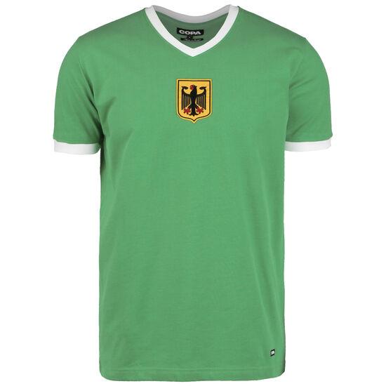 Deutschland Away 1970s Retro T-Shirt Herren, grün / weiß, zoom bei OUTFITTER Online