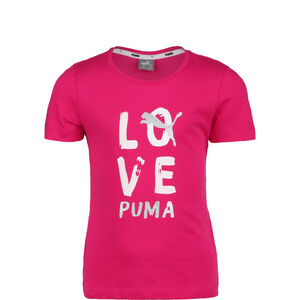 Alpha T-Shirt Kinder, pink / weiß, zoom bei OUTFITTER Online