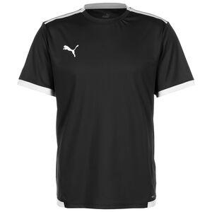 TeamLIGA Fußballtrikot Herren, schwarz / weiß, zoom bei OUTFITTER Online
