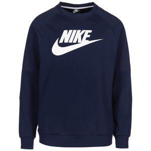Modern Fleece Crew Sweatshirt Herren, dunkelblau, zoom bei OUTFITTER Online