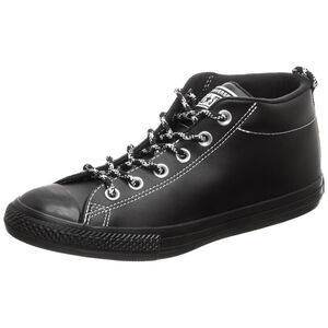 Chuck Taylor All Star Street Mid Sneaker Kinder, schwarz, zoom bei OUTFITTER Online
