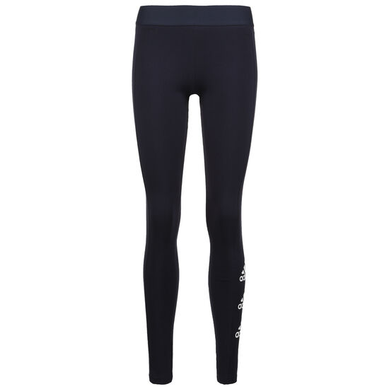Must Haves Stacked Logo Tight Damen, dunkelblau, zoom bei OUTFITTER Online